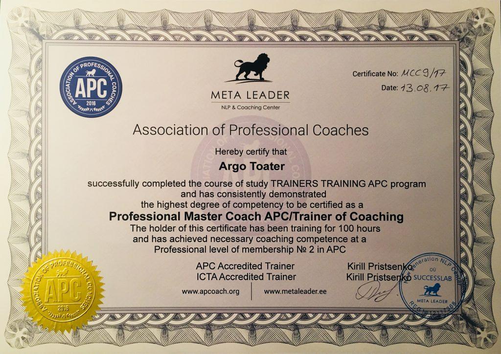 тренер по коучингу